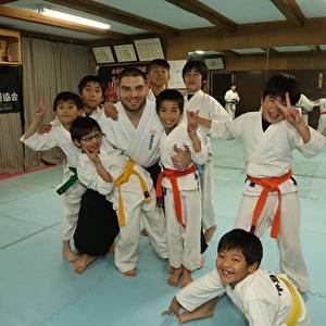 Mladen Shihan and kids